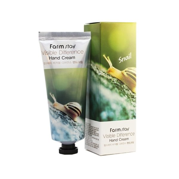 Крем для рук Улитка Farm stay Hand Cream SNAIL, 100г
